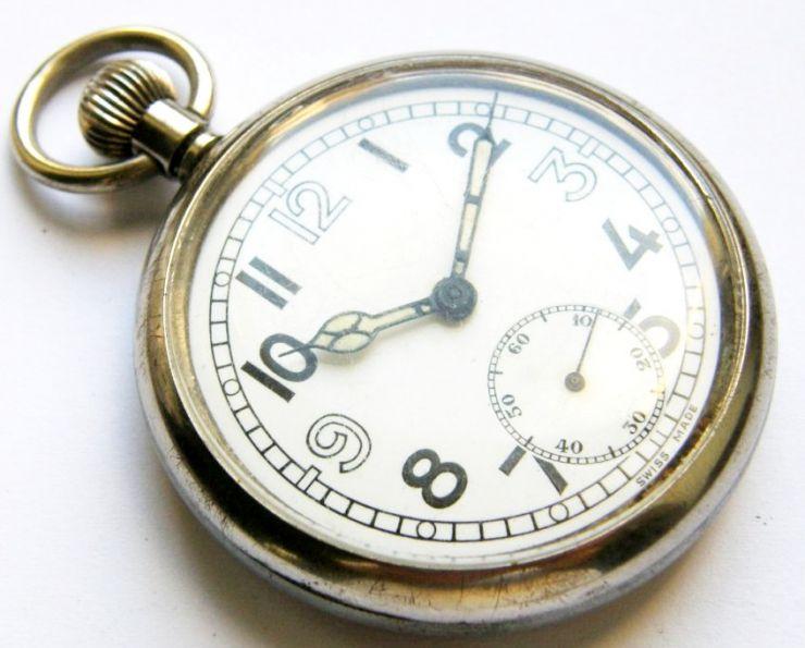 Reloj de un Voluntario de la División Azul